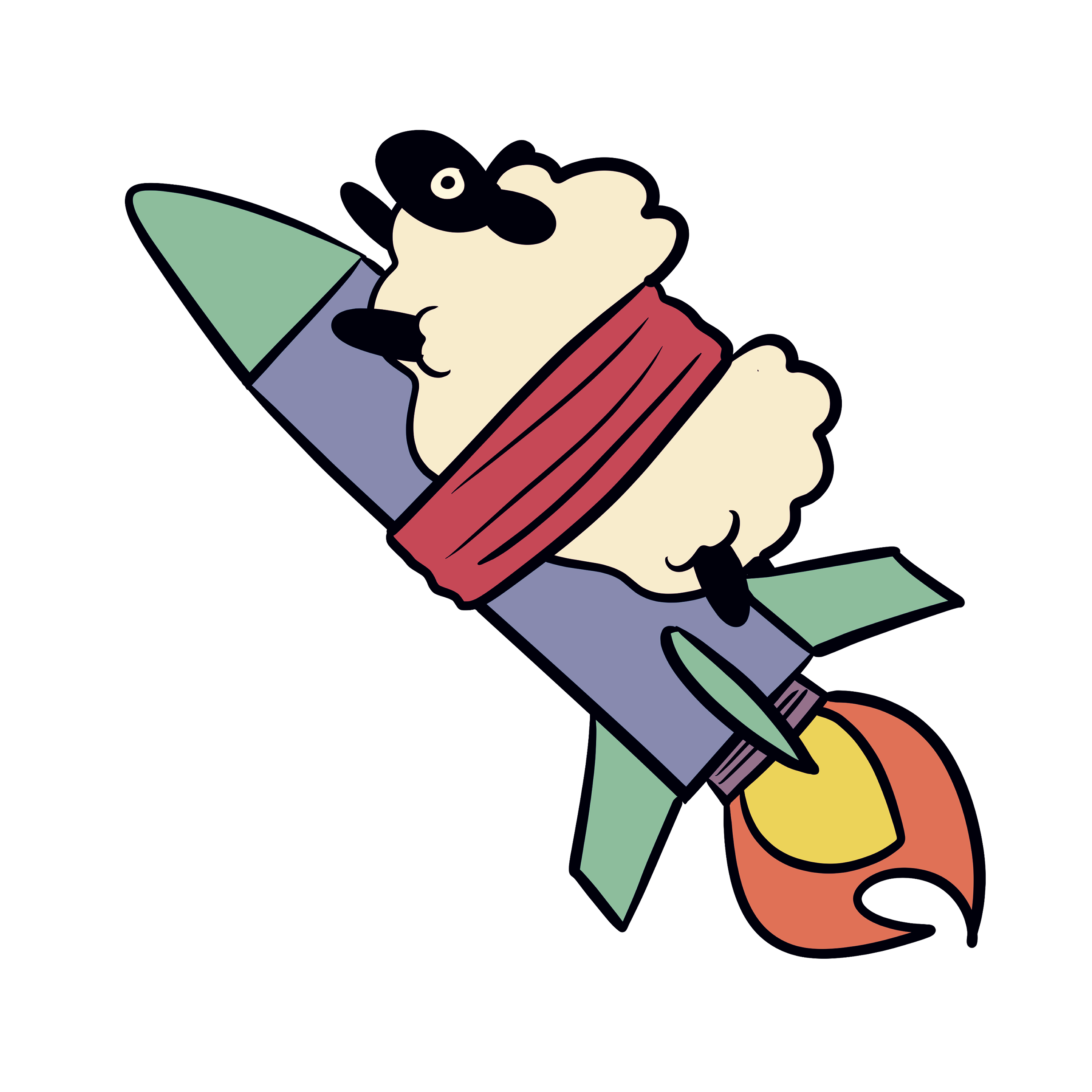 Go Go Mach Rocket Sheep